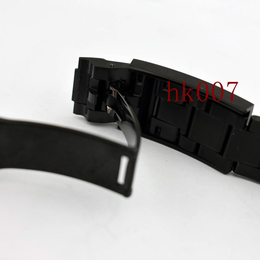 P616 Bandas de reloj Estéril 20mm 316L Correa de reloj de pulsera de acero inoxidable sólido