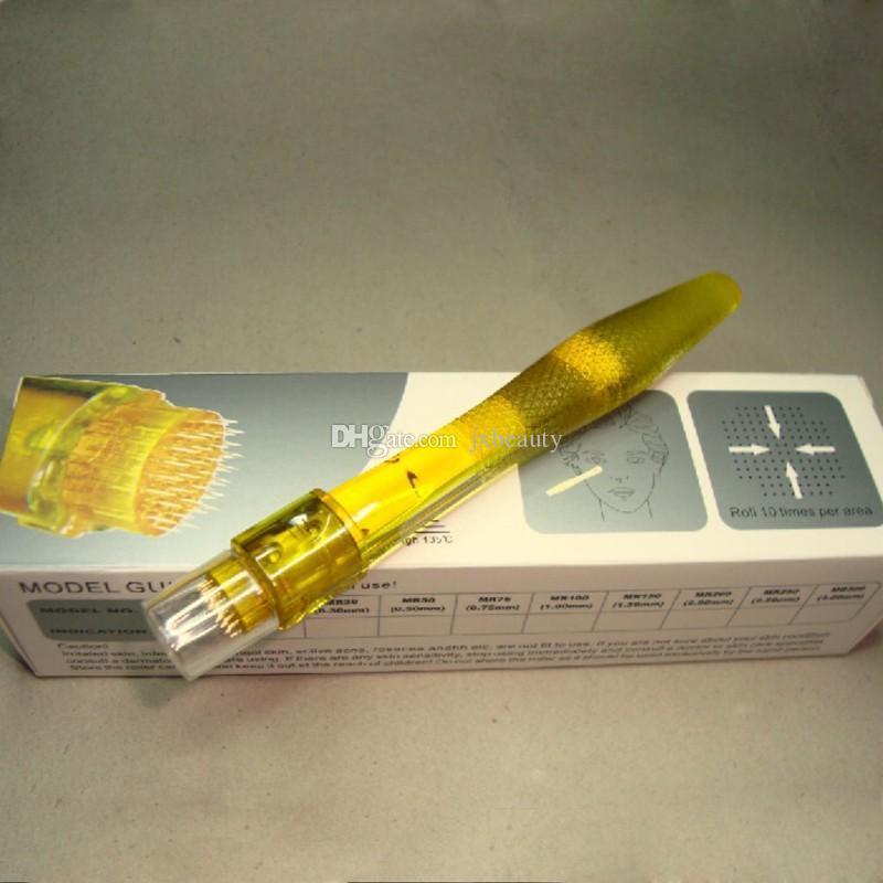 35 aiguilles derma stamp DTR derma roller avec 35 micro aiguilles 0.2MM-3.0MM expédition de goutte