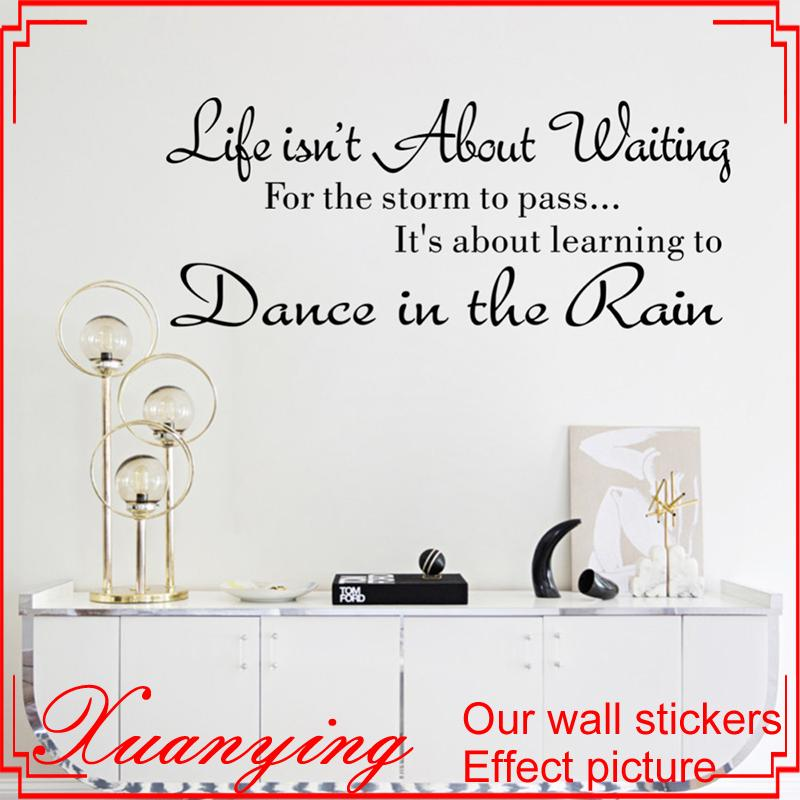 life is not about waiting inspirational quotes cute art characters