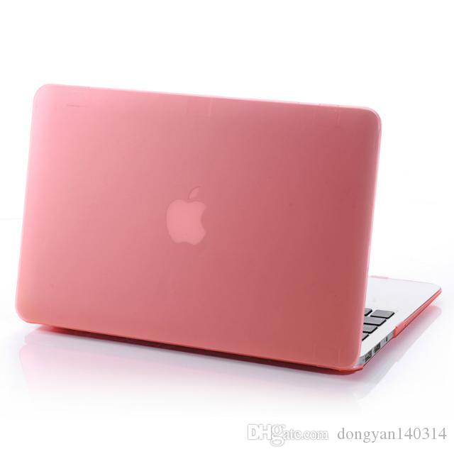 Matte Frosted Hard Plastic Protective Case for 11 12 13 15 inch Macbook Air Pro Retina Laptop Crystal Rubberized Protector Cover Shell