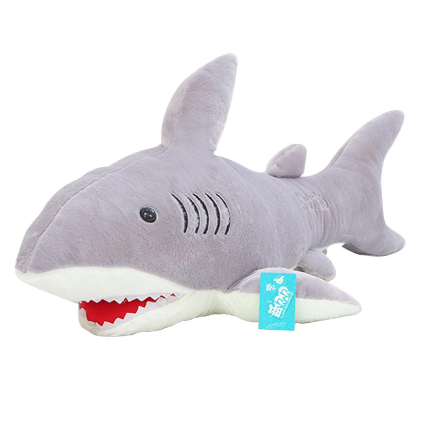 High Quality 70Cm Shark Plush Toy Stuffed Pillow Doll Birthday Gift Kids Toy  Baby Toy Nice Brinquedos For Children UK 2019 From Rh baby c9298a859
