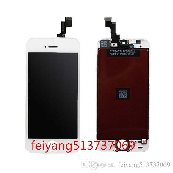 High quality For iphone 5 5G 5C 5S LCD Display Touch Screen Digitizer Complete Assembly Replacement