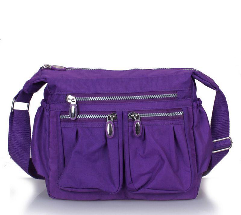446d884824 2017 New Cross Body Women Messenger Shoulder Bag Light Weight Nylon  Waterproof Sport Bag Mama Cross Body Bag Mix Color Tote Handbags Relic  Purses From ...