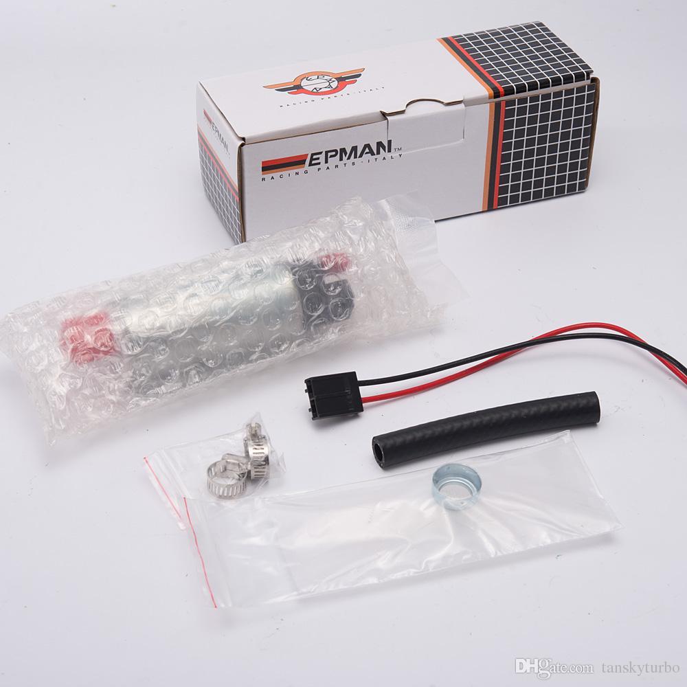 EPMAN 320LPH Bomba de combustible de alto rendimiento para F20000169 255LPH para Tuning Racing Cars tiene en stock EP-RYB169-320