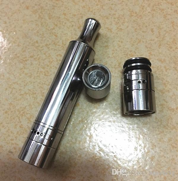 double coil atomizer for wax dual quartz rod coil head replaceable for 510 atomizer skillet 2 atomizer metal wax vaporizer