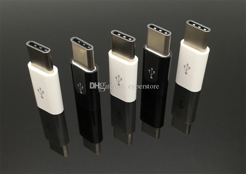 Cyberstore Micro USB al Tipo C del caricatore del cavo adattatore USB Macbook xiaomi mi4c Nexus 5X USB 3.1