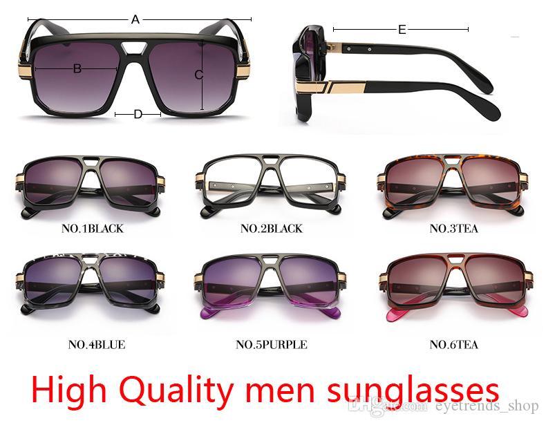 31a2e0f75fb33 High Quality Designer Large Frame Sunglasses Retro Individuality Sports Sunglasses  2017 Brand Classics Club Sunglasses For Men John Lennon Sunglasses Wiley ...