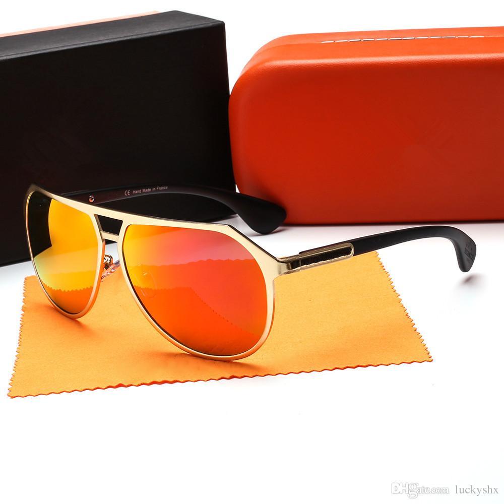 10bd264e473c7 Compre Moda Polarizada Óculos De Sol Das Mulheres Dos Homens De Alta  Qualidade Designer Polaroid Hd Óculos De Sol Unisex Uv400 Polaroid Eyewear  Com Caixa De ...