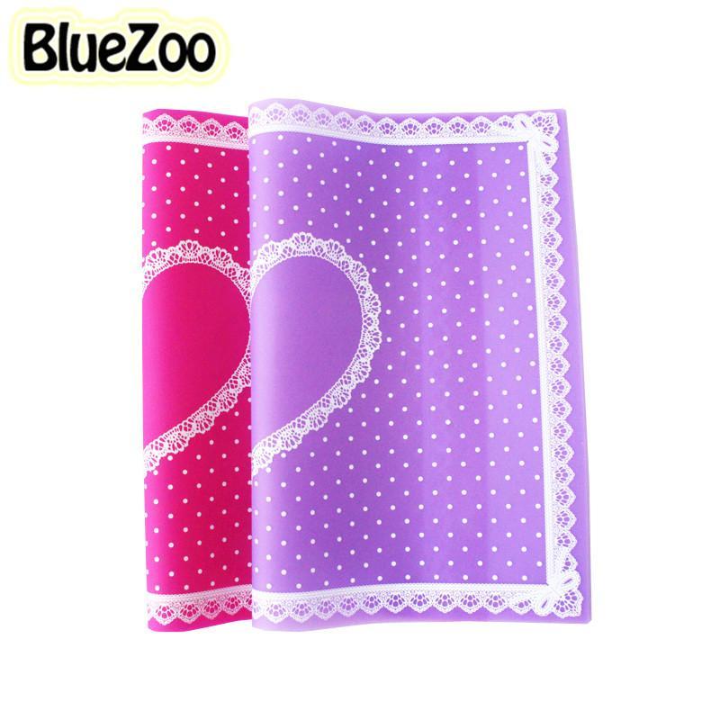 Wholesale- BlueZoo Nail Art Table Mat Nail Mat Pad Cute Point Lace ...
