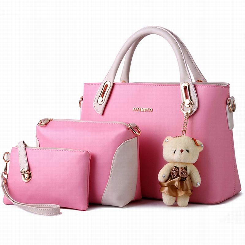 Wholesale New 2016 Eleganci Handbags Pu Leather Designer Bags Ladies