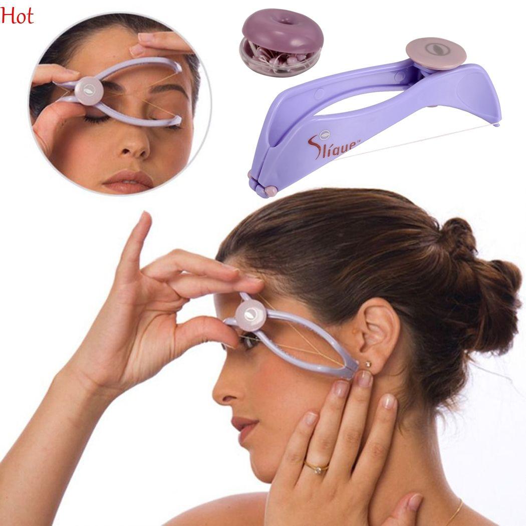 Frauen Gesichts Haar Remover Frühling Threading Epilierer Gesicht Defeatherer Diy Make-up Schönheit Werkzeug Für Wangen Augenbraue Großhandel Arbeitsplatz Sicherheit Liefert Sicherheit & Schutz