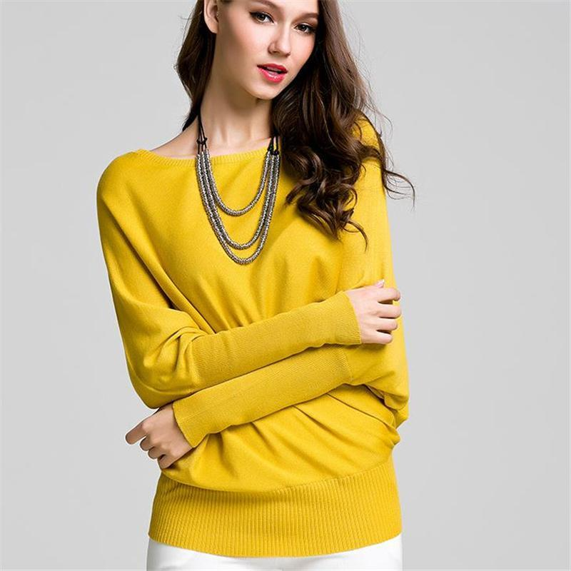 2019 High Quality Sweaters For Women Winter Pullover Solid Knitted Sweater  Top For Women Autumn Female Fashion Sweater Wholesale From Vogogirl dbb4c786d