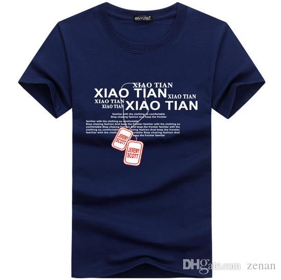 Mens T Shirts Moda 2017 Verano Estilo Algodón Tops 3D Carta Divertida oso de diamante Extendido de calidad superior camiseta Más El Tamaño S-5XL