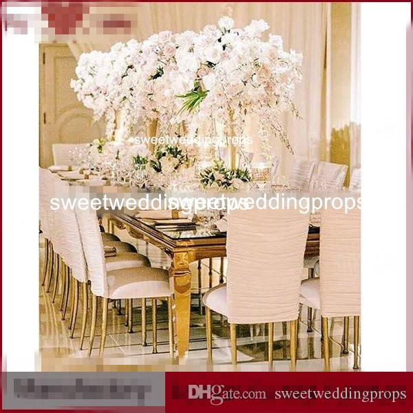 mental iron vase flower stand /tall flower vase for wedding decoration and table