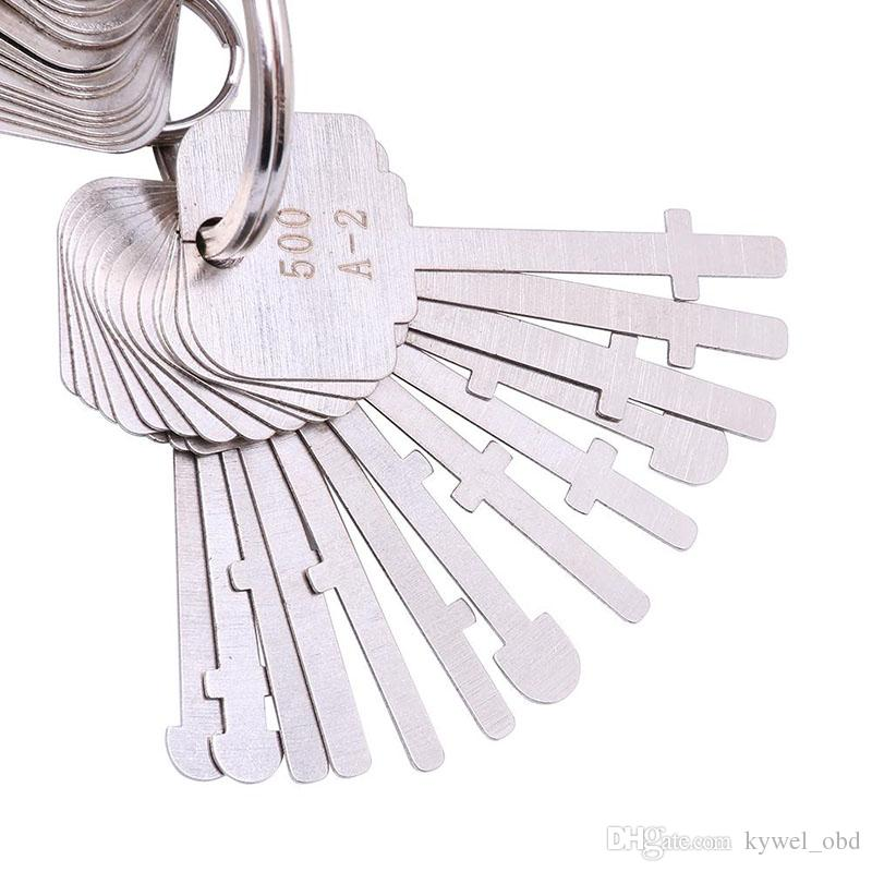 2017 New KLOM Warded Pick Set Keys Ward Lock Keys Warded Lock Skeleton Key Warded Keys Unlock Tools for Professional Locksmith