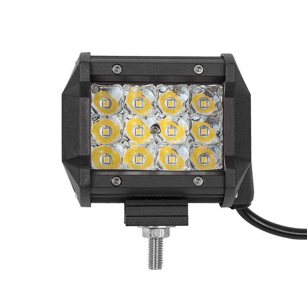 Venta al por mayor de 18W LED lámpara de barra de trabajo de luz para motos Tractor barco Off Road 4WD 4x4 camión SUV ATV Spot 12V 24V
