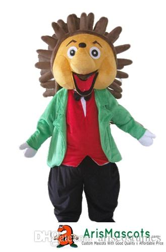 61eb0ab87cd6 Hedgehog Mascot Costume Outfits Custom Animal Mascots For Advertising Team  Mascot Character Design Deguisement Mascotte Quality Mascot Maker Teen  Halloween ...
