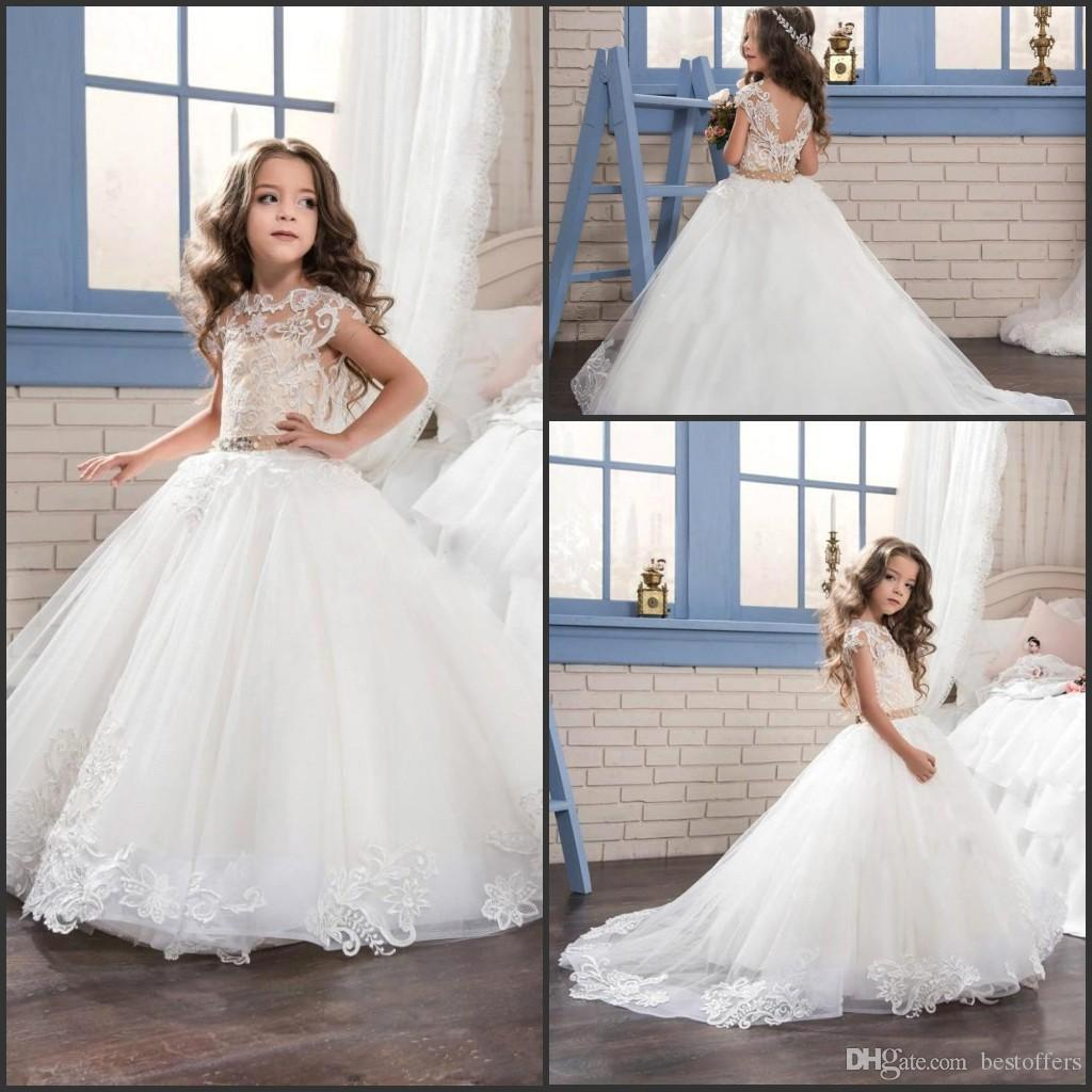 Princess lovely flower girl dresses for wedding 2017 new fashion v 20 ombrellifo Image collections
