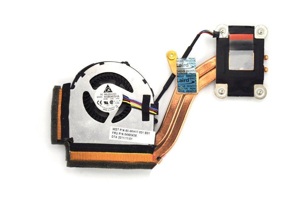 Новый оригинальный радиатор с вентилятором для Lenovo IBM X220 X220I x230 портативный радиатор кулер 04W0435 04W1774
