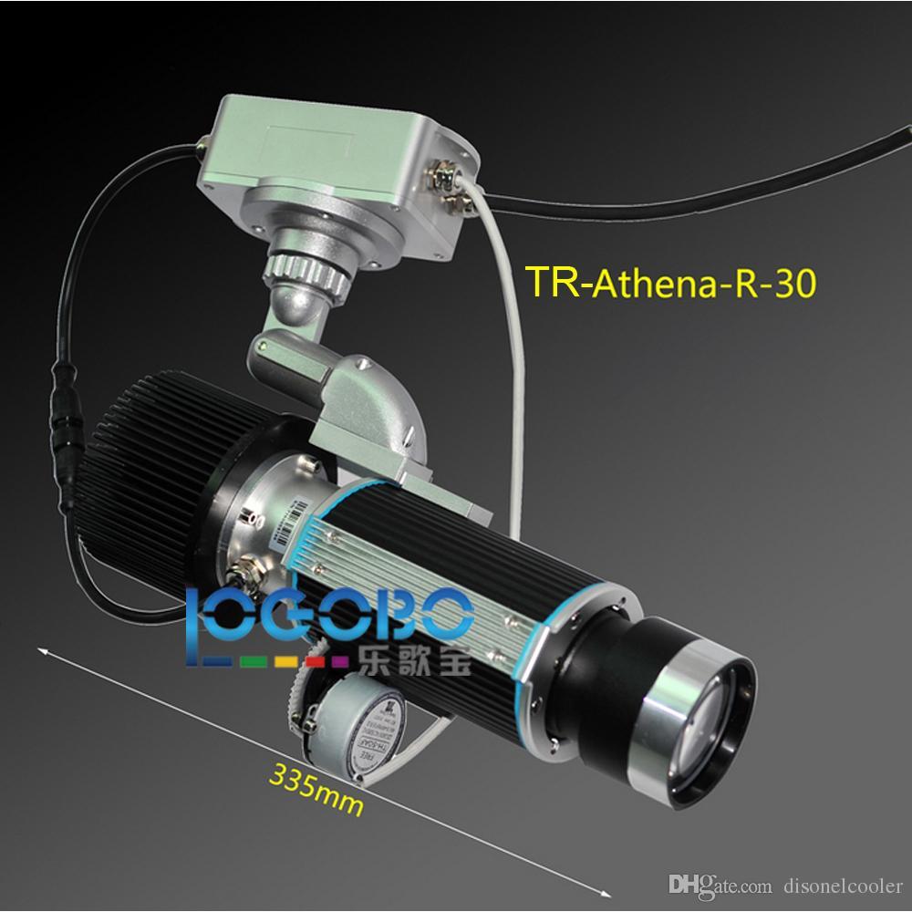 Draagbare 30W LED-lampen 3000 Lumen Projector Special Effect Gobo Roterende projectieverlichting voor lange korte worp-projector Super helder