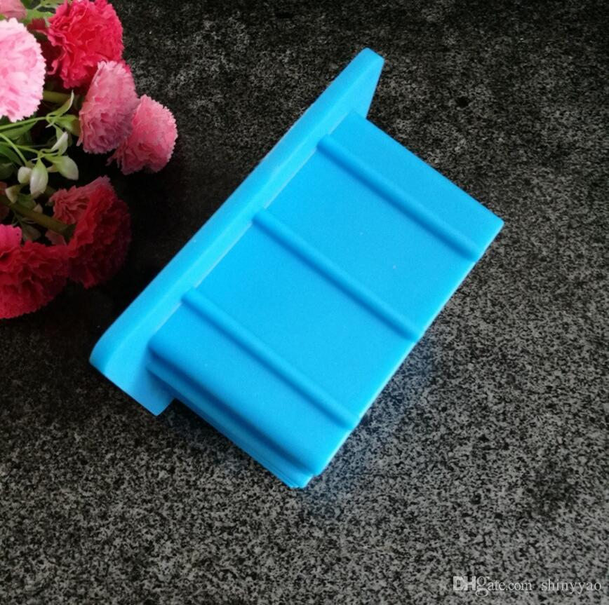 New Arrival 530ML Square Silicone Easy Removal silicone handmade soap Mold chocolate Cake tools cake decorating fondant mold