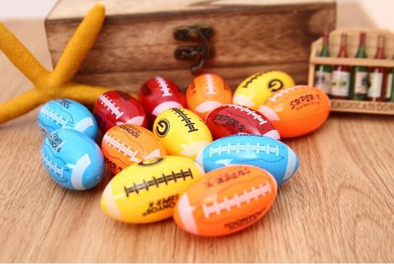 Mignon Football américain Un Trou Manuel Taille-crayon Shool Fournitures Bureau Accessoires D'apprentissage Cadeaux Prix Cadeaux