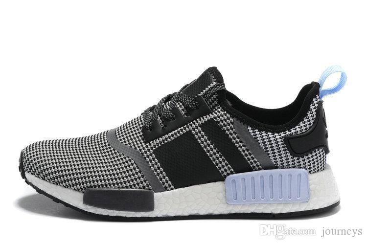 Adidas Mens Black/Blue NMD XR1 PK SZ 9.5 DS s32215