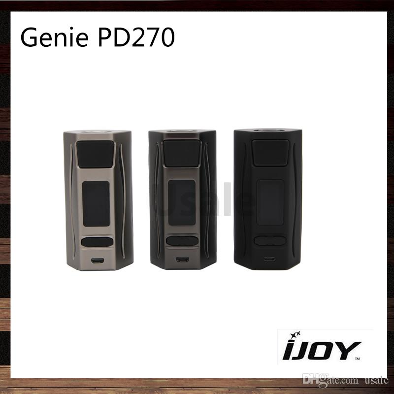 iJoy Genie PD270 TC BOX Mod 234W IWEPAL Chipset With 2 20700 Batteries 6000mah RGB Backlight and LED Flashlight Function 100% Original