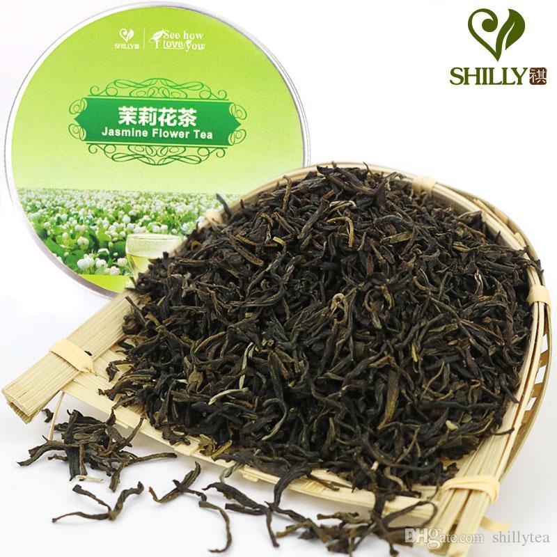 Grosshandel 70g Chinesischer Organischer Jasmin Blumen Tee