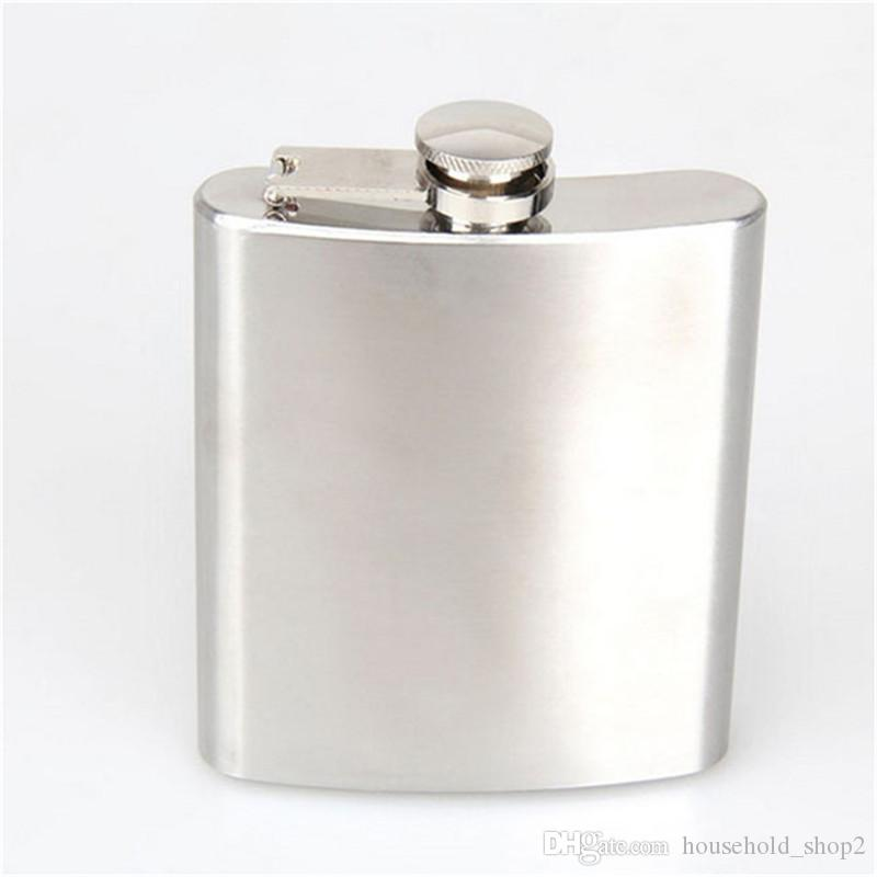 2017 Christmas Portable Stainless Steel Hip Flasks 7OZ Wine Bottle Set Pocket hip Flask outdoor wine glasses sets hip flask with funnel