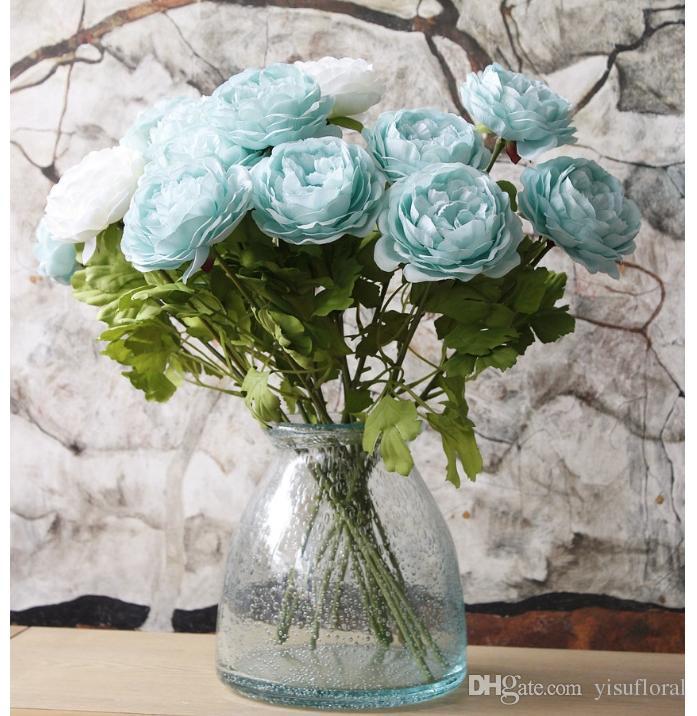 Artificial flower arrangements peony artificial wedding bouquets cheap silk flowers artificial wedding bouquets wedding arch decorations
