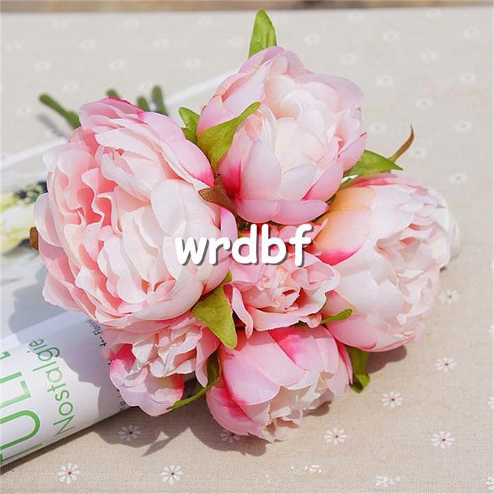 가짜 모란 신부 꽃다발 26cm / 10.24