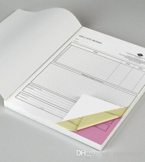 Custom Triplicate Carbonless Invoice Book Manifest Sales Receipt - Custom carbon paper invoices