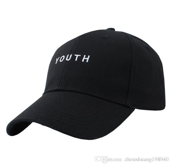 Compre Moda Negro Rosa Blanco YOUTH Dad Sombreros Para Hombres Mujeres  Béisbol Ajustable Palace Deus Cap Ovo Drake Sombrero Gorras Planas Hip Hop  A  6.04 ... 0684a3511f1