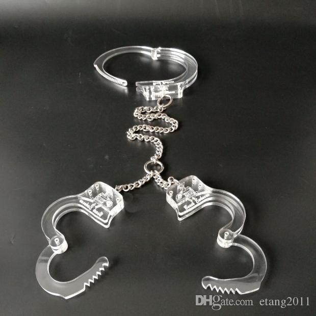 Sexspielzeug BDSM Bondage Halsband Handschellen Halskette Halsband