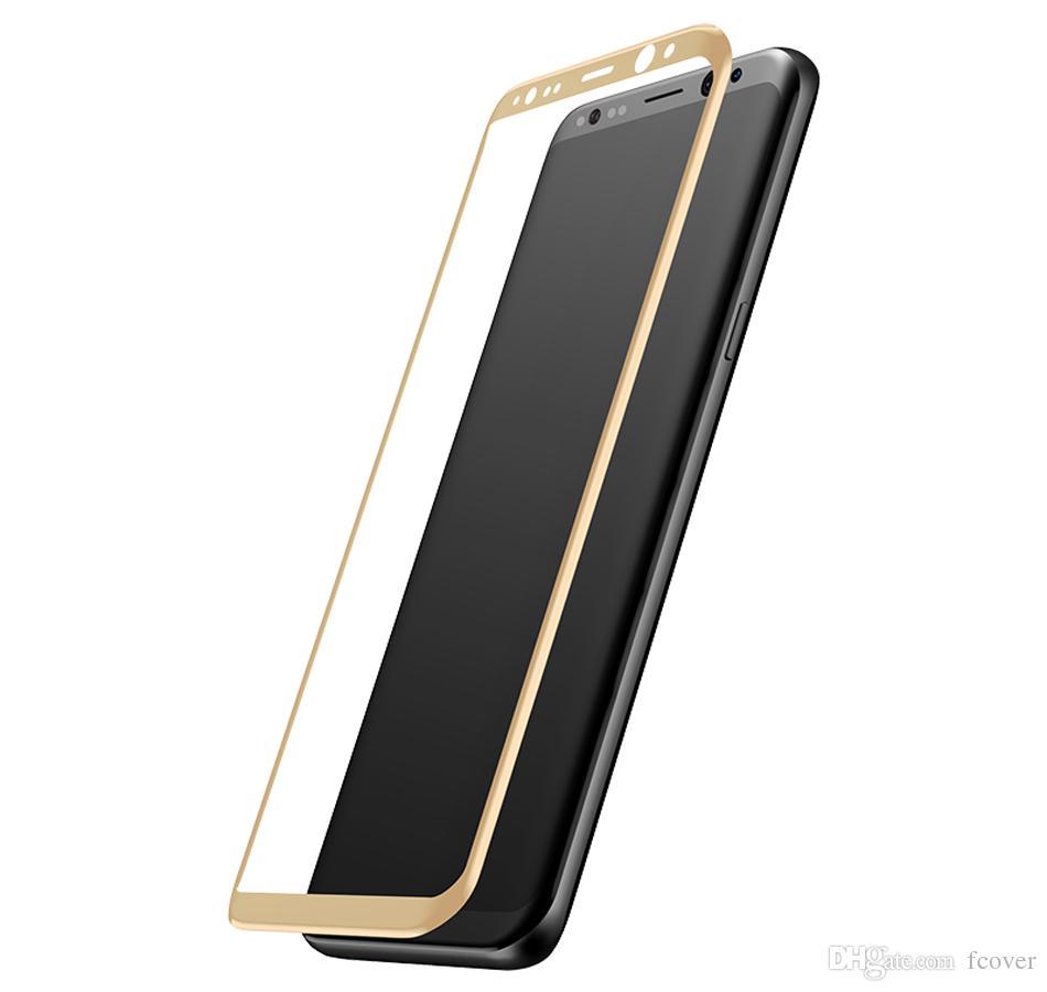 Samsung Galaxy S8 Artı temperli cam Film Ekran Koruyucu Samsung Galaxy S9 Artı S10 Artı S10 Lite 3D Full Kapak Cam