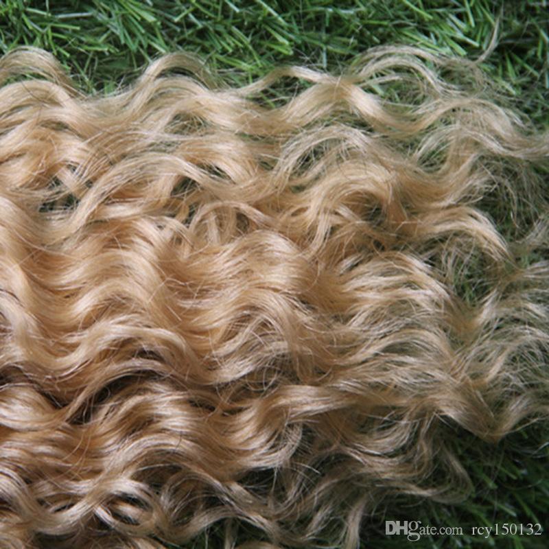 613 Lixívia Loira remy indiano cabelo humano pre ligado i-ponta 100g loira extensões de cabelo de fusão 100s pré ligado queratina vara ponta cabelo humano