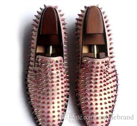 Peach Shoes Mens