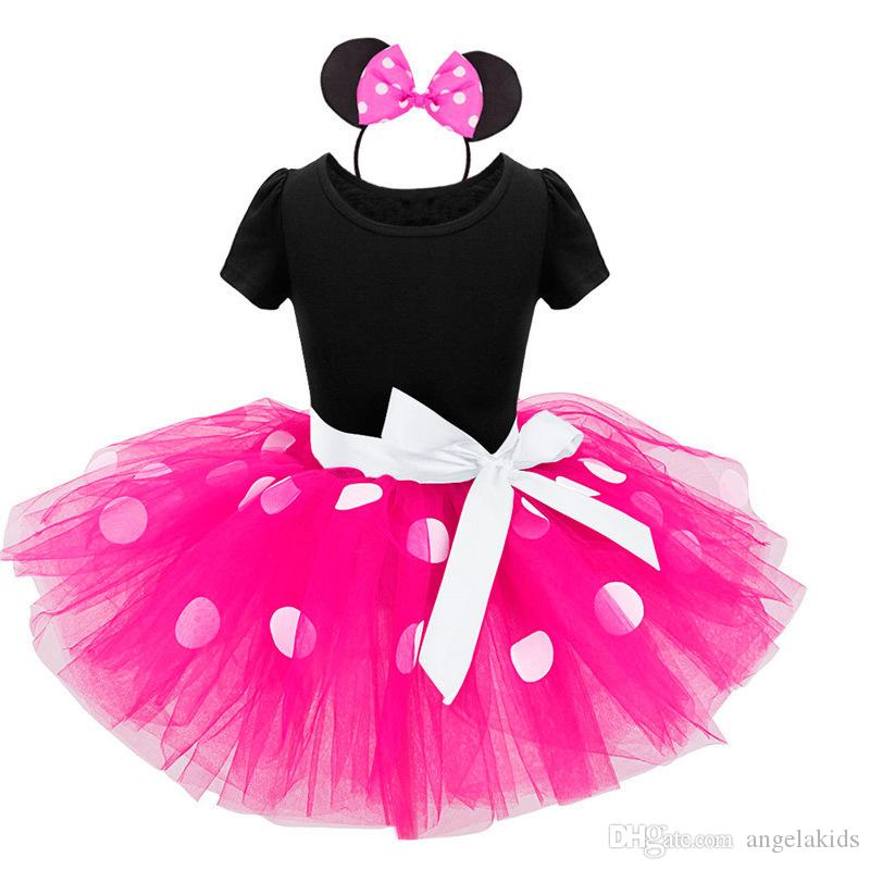 Tutu Dress Baby Clothing 2017 INS hot Girls Dress Bambini Princess Party Pageant Birthday Tulle Tutu Dresses