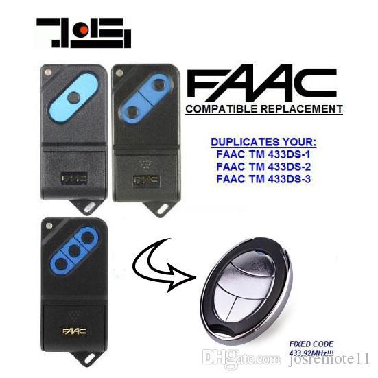For Faac Tm 433ds 1tm 433ds 2tm 433ds 3 Faac Garage Door Remote