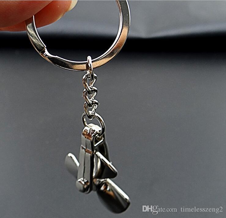 mulino a vento creativo a forma di catena chiave può essere ruotare il mulino a vento chiave anello A wonderfu testimoniare la coppia lovel piccoli doni
