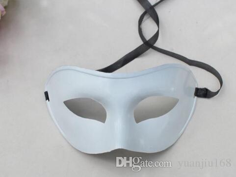 50 stks Venetiaanse masker Masquerade Party levert plastic half-gezichtsmasker levert