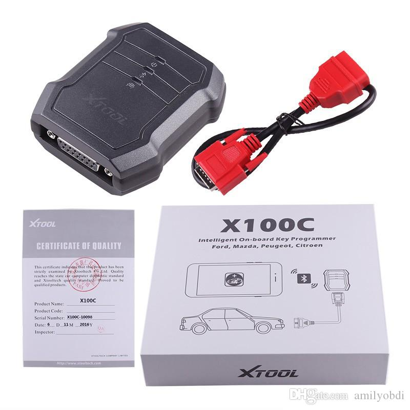 XTOOL X100 C Auto Key Programmer Xtool X-100 C for iOS and for Android