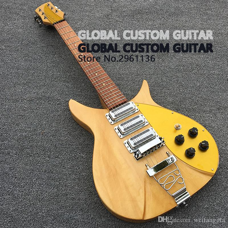 High Quality Electric Guitar Original Wood Color Fixation Pull ...