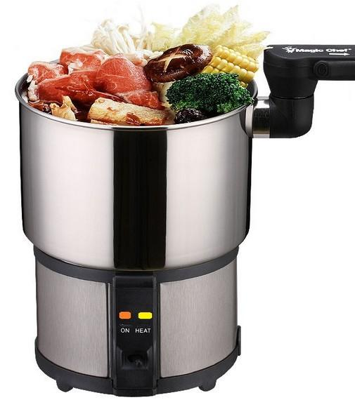 110V   220V mini corsa cucina elettrica portatile elettrico Cup dormitorio pentola di cottura piccolo piatto caldo 450W può convertire manualmente tensione 140 * 100MM