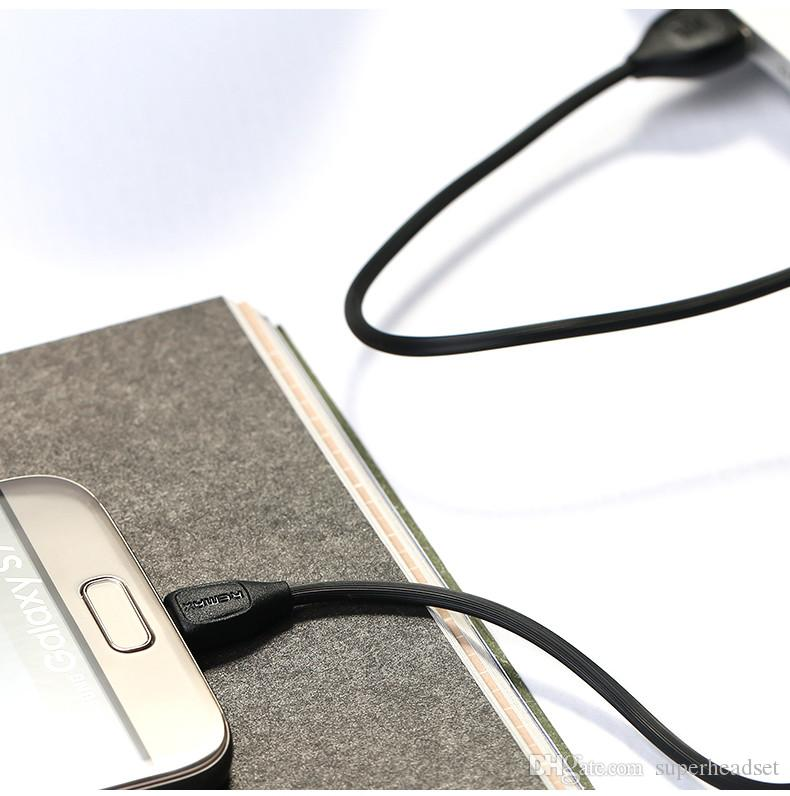 Remax cabo USB de carregamento rápido de dados cabo de sincronização para Samsung android com pacote de varejo