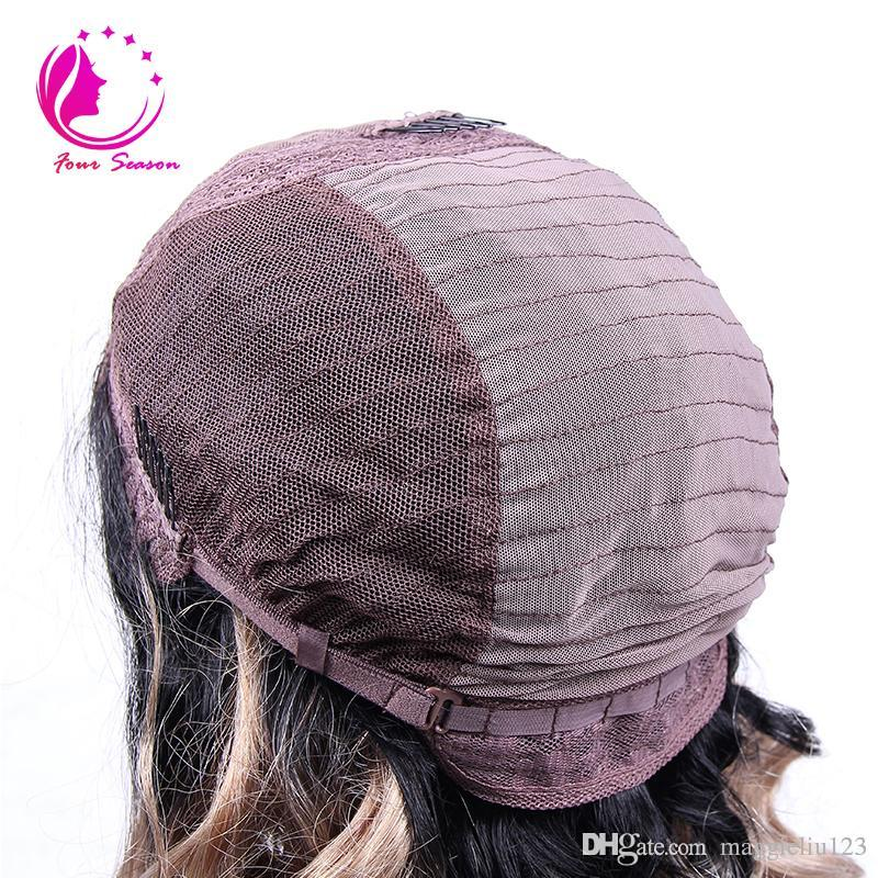 Luz brasileña italiana Yaki Seda Top pelucas llenas del cordón 4x4 Yaki Straight seda pelucas delanteras del cordón con el pelo del bebé para mujeres negras