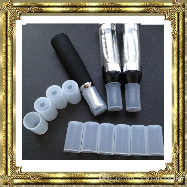 Hot sale!!CE4 CE5 CE6 Cover Cap Plastic drip tip cap Disposable Silicone Rubber Test Tester Drip Tips Mouthpiece for Atomizer Clearomizer