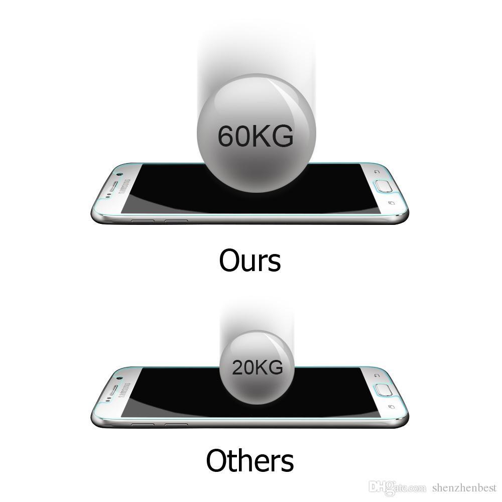 2.5d HD Pour Motorola MOTO XT1032 / G2 / Jeu E / X / X Style / X2 / XT1056 / E2 E-LTE / XT907 / G3 Verre Trempé Protecteur d'écran protecteur film avant