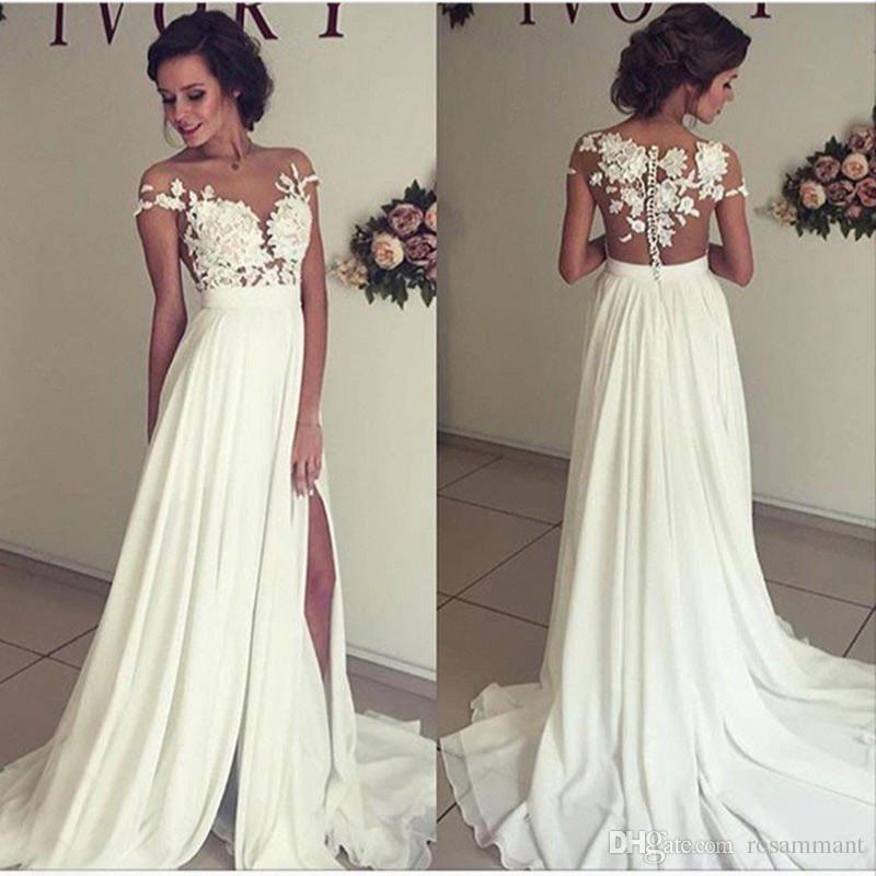 Vestidos de novia baratos y elegantes